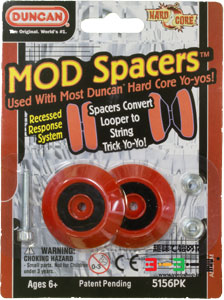 MOD Spacers Recessed レッド