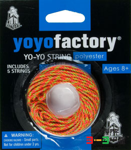 Neon Polyester String 5-Pack